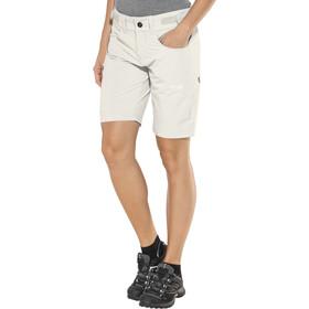 Bergans Torfinnstind Pantalones cortos Mujer, alu/white